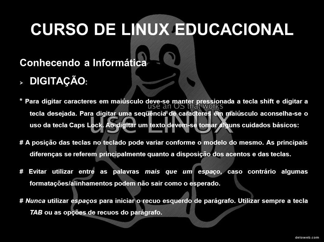 CURSO DE LINUX EDUCACIONAL