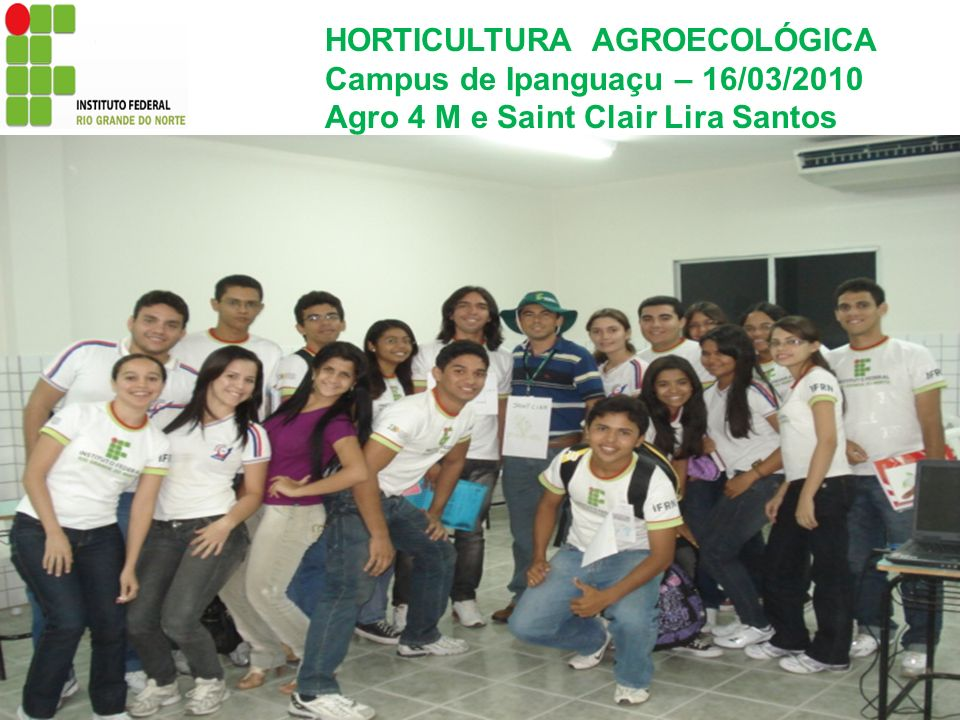 HORTICULTURA AGROECOLÓGICA