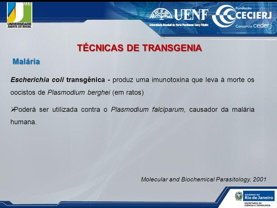 TÉCNICAS DE TRANSGENIA