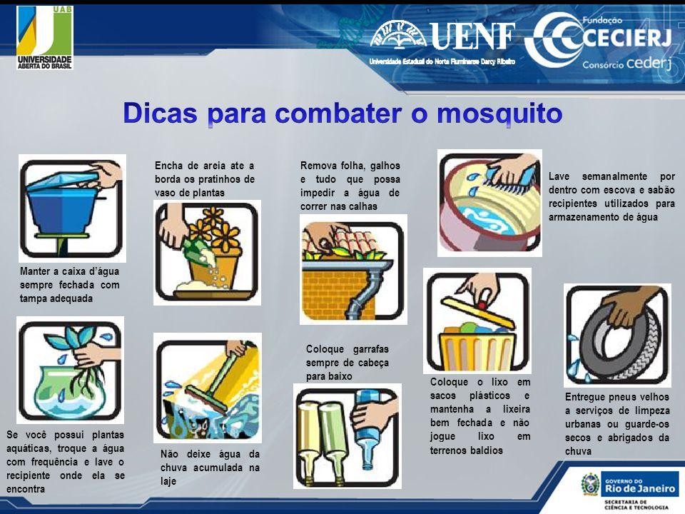 Dicas para combater o mosquito