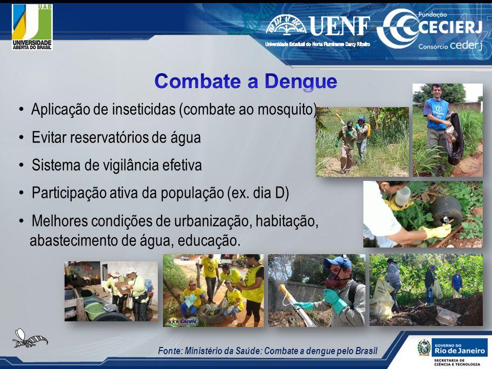 Combate a Dengue Aplicação de inseticidas (combate ao mosquito)