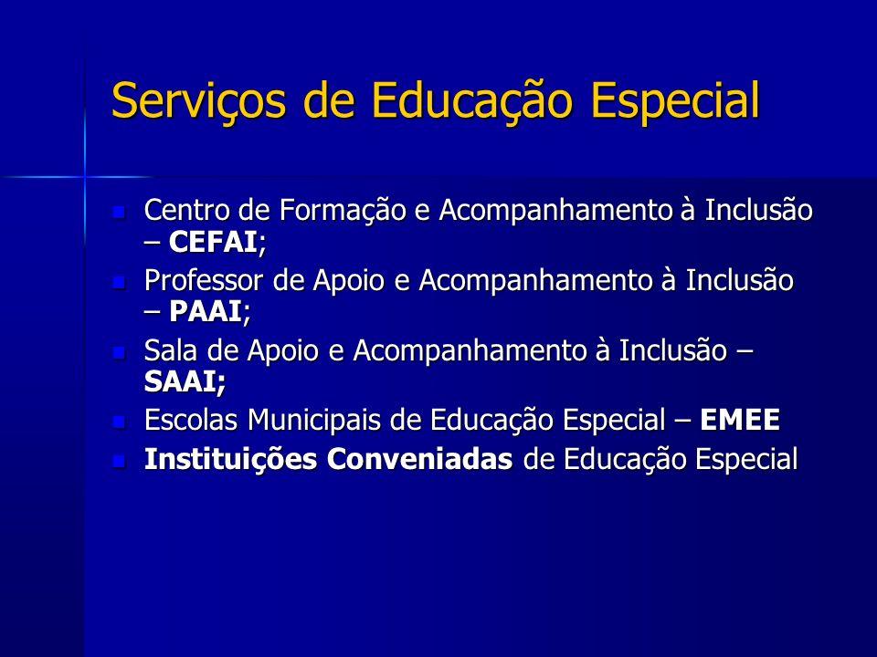 Serviços de Educação Especial