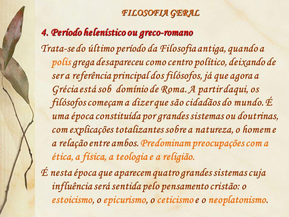 4. Período helenístico ou greco-romano