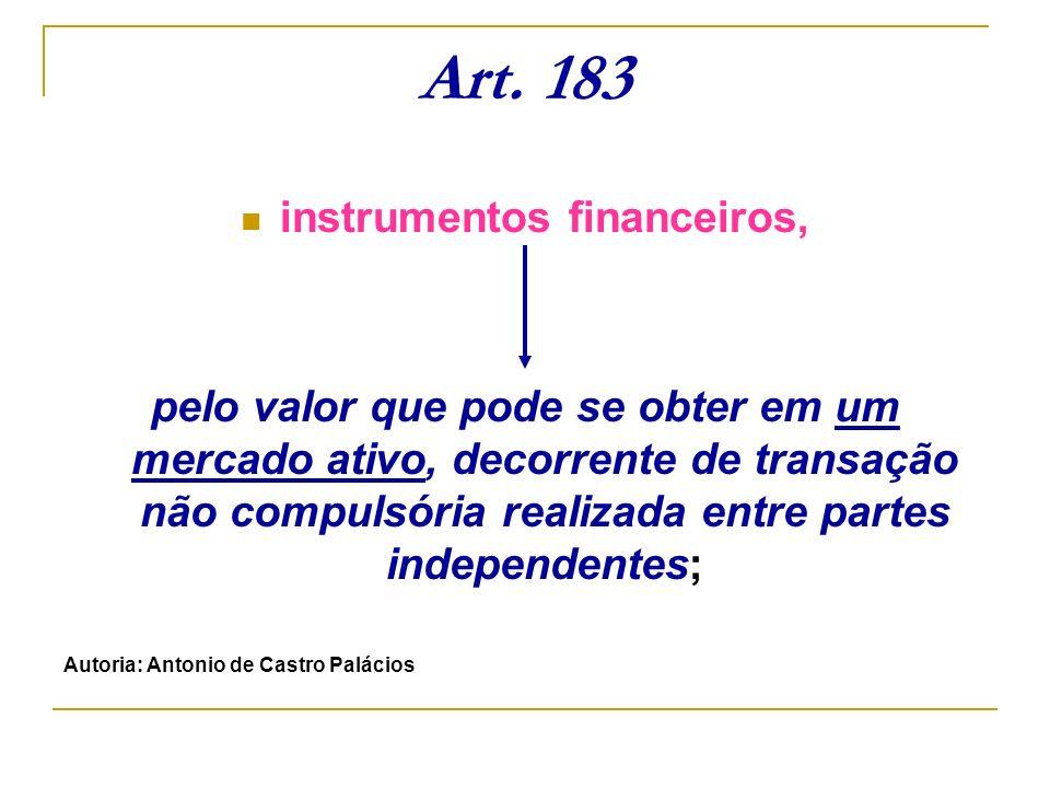 instrumentos financeiros,