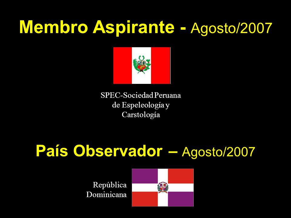 Membro Aspirante - Agosto/2007
