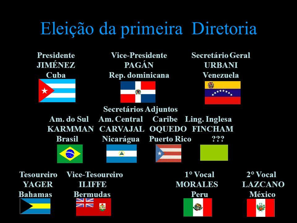Eleição da primeira Diretoria