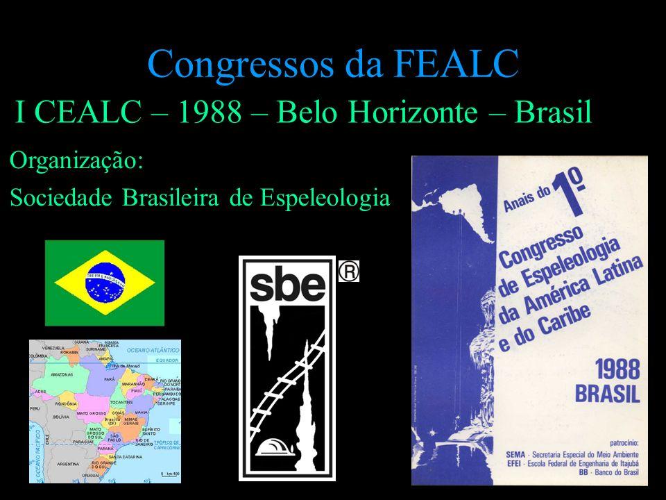 Congressos da FEALC I CEALC – 1988 – Belo Horizonte – Brasil