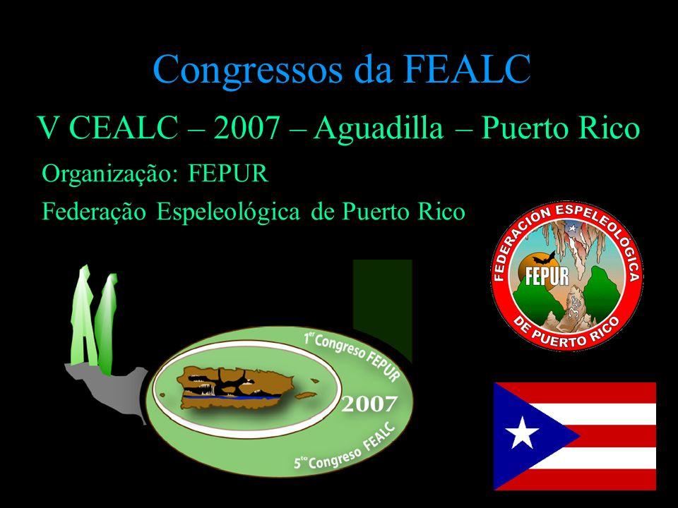 Congressos da FEALC V CEALC – 2007 – Aguadilla – Puerto Rico