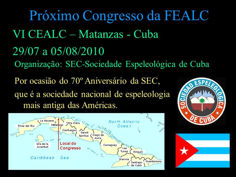 Próximo Congresso da FEALC
