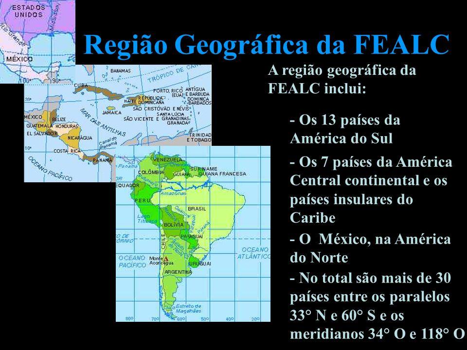 Região Geográfica da FEALC