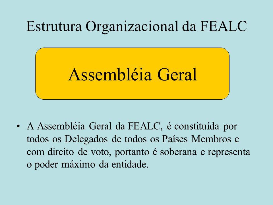 Estrutura Organizacional da FEALC