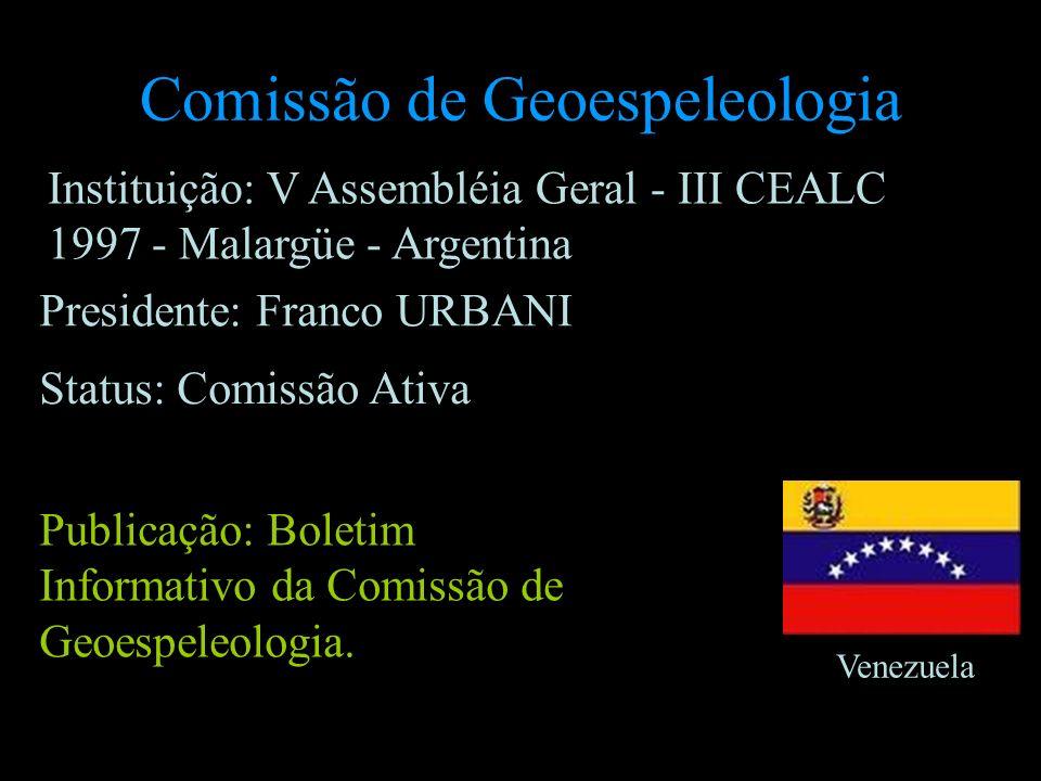 Comissão de Geoespeleologia