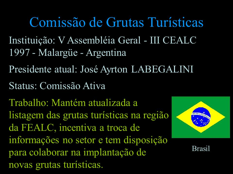 Comissão de Grutas Turísticas