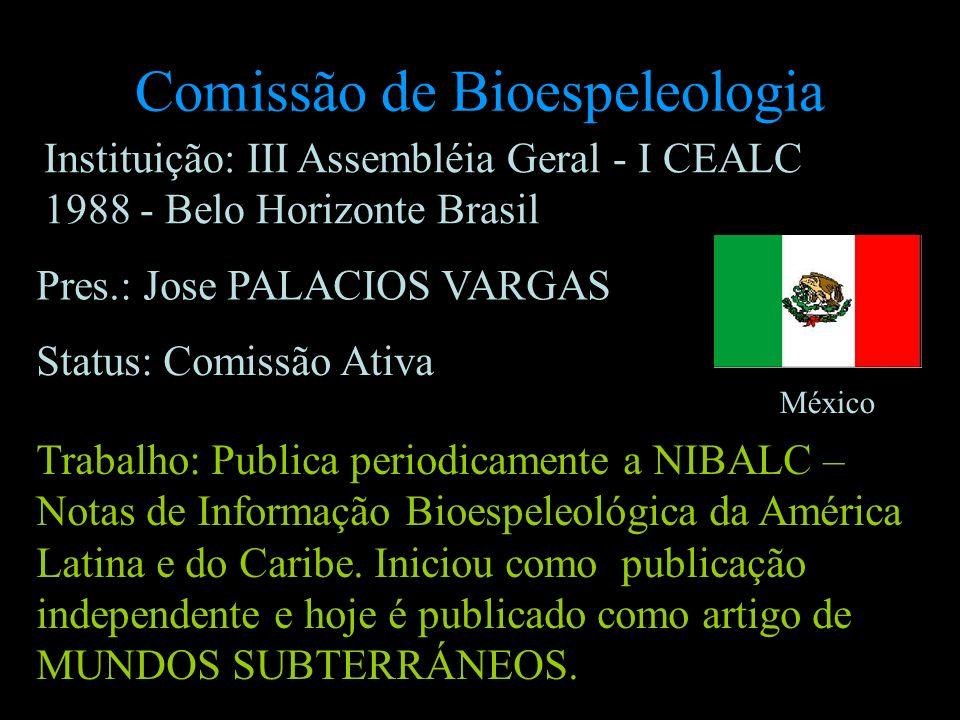 Comissão de Bioespeleologia