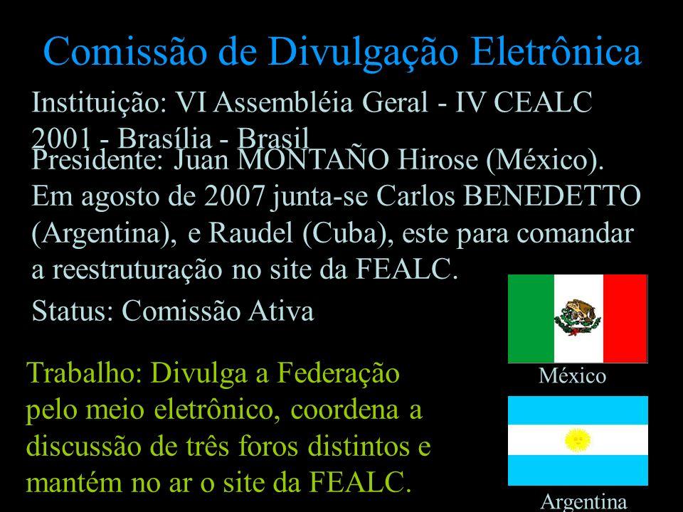 Comissão de Divulgação Eletrônica