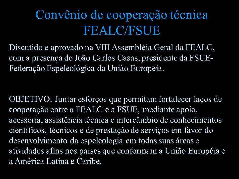 Convênio de cooperação técnica FEALC/FSUE
