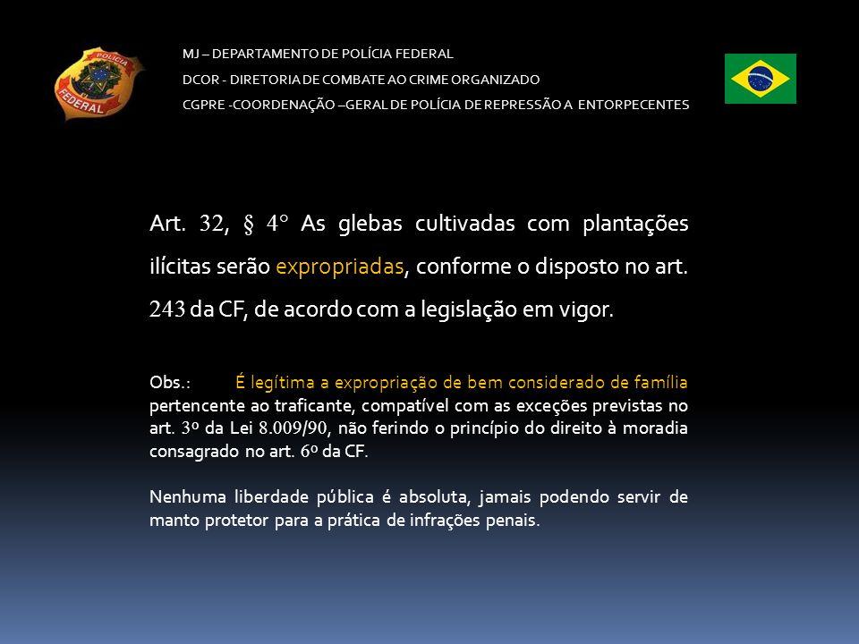 MJ – DEPARTAMENTO DE POLÍCIA FEDERAL