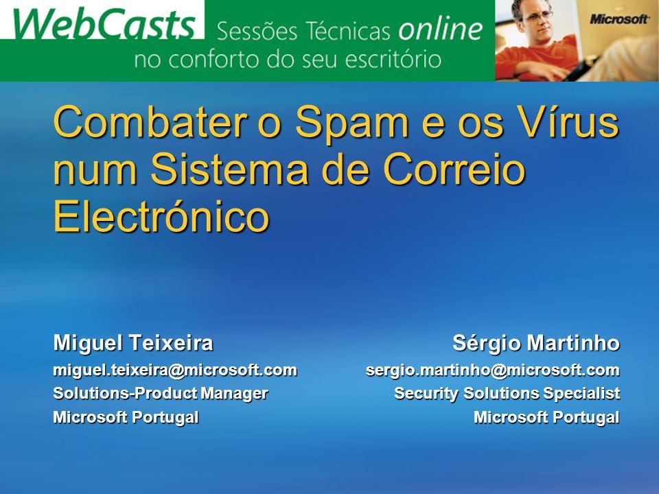 Combater o Spam e os Vírus num Sistema de Correio Electrónico