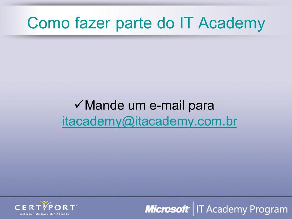 Como fazer parte do IT Academy