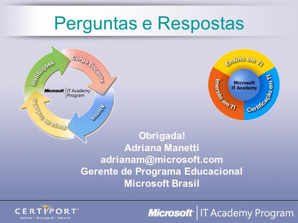 Gerente de Programa Educacional