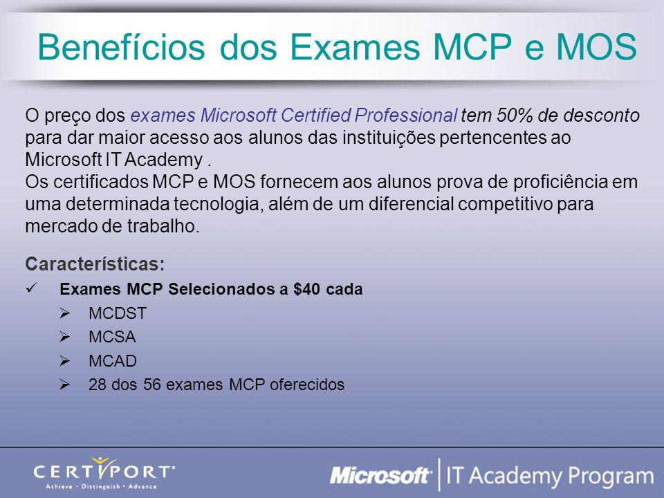 Benefícios dos Exames MCP e MOS