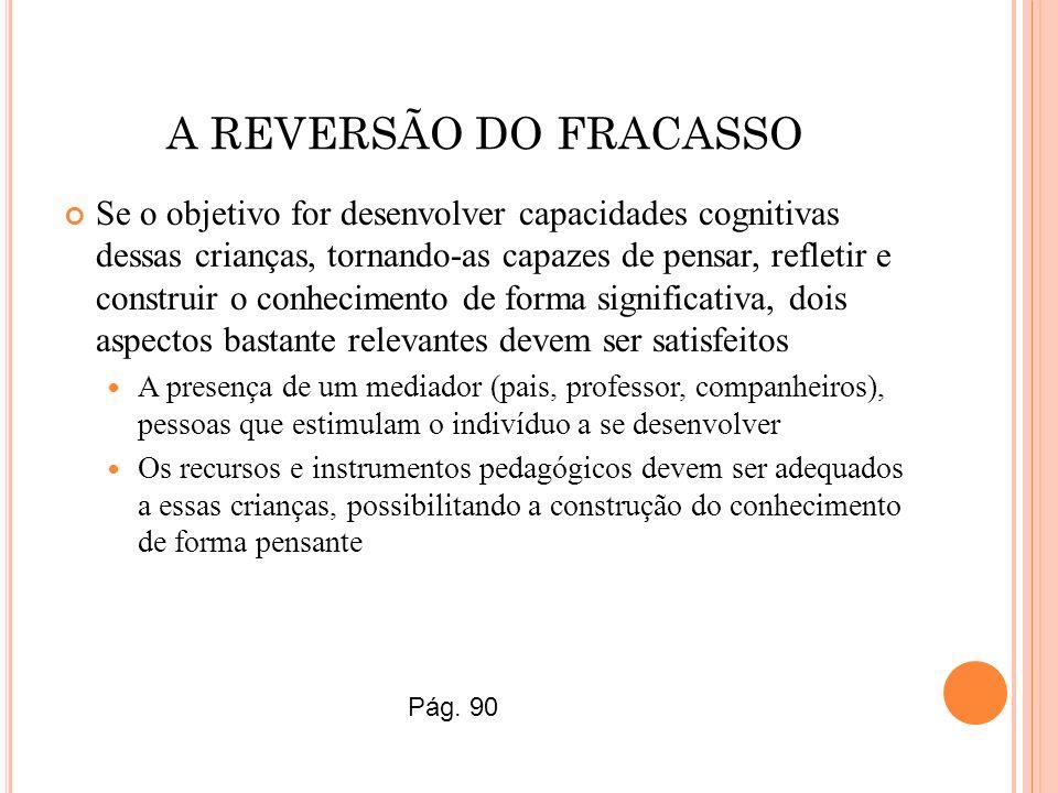 A REVERSÃO DO FRACASSO