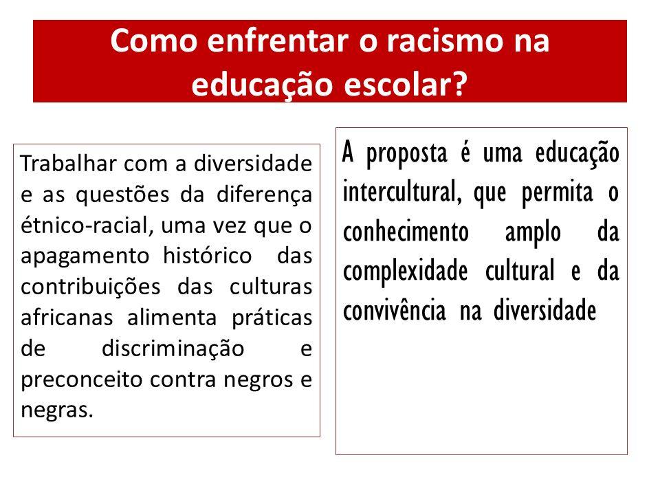Como enfrentar o racismo na educação escolar