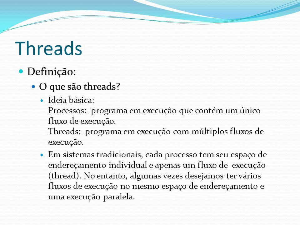 Threads Definição: O que são threads