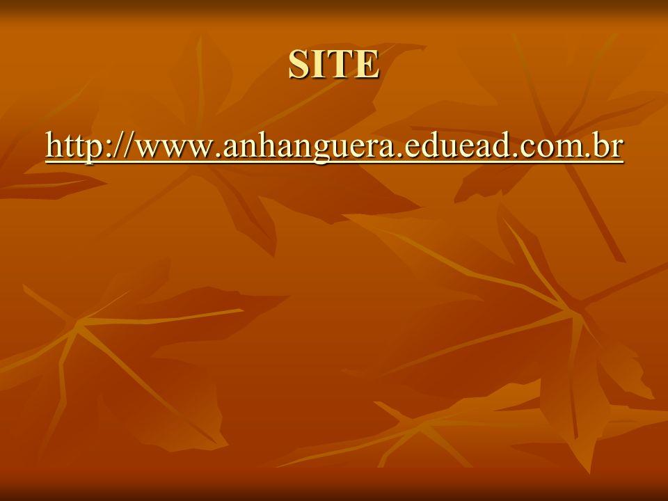 SITE http://www.anhanguera.eduead.com.br