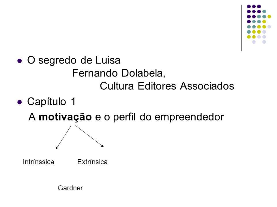 O segredo de Luisa Fernando Dolabela, Cultura Editores Associados