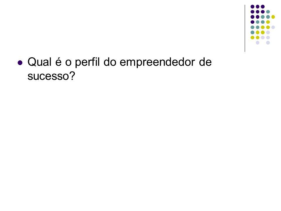 Qual é o perfil do empreendedor de sucesso