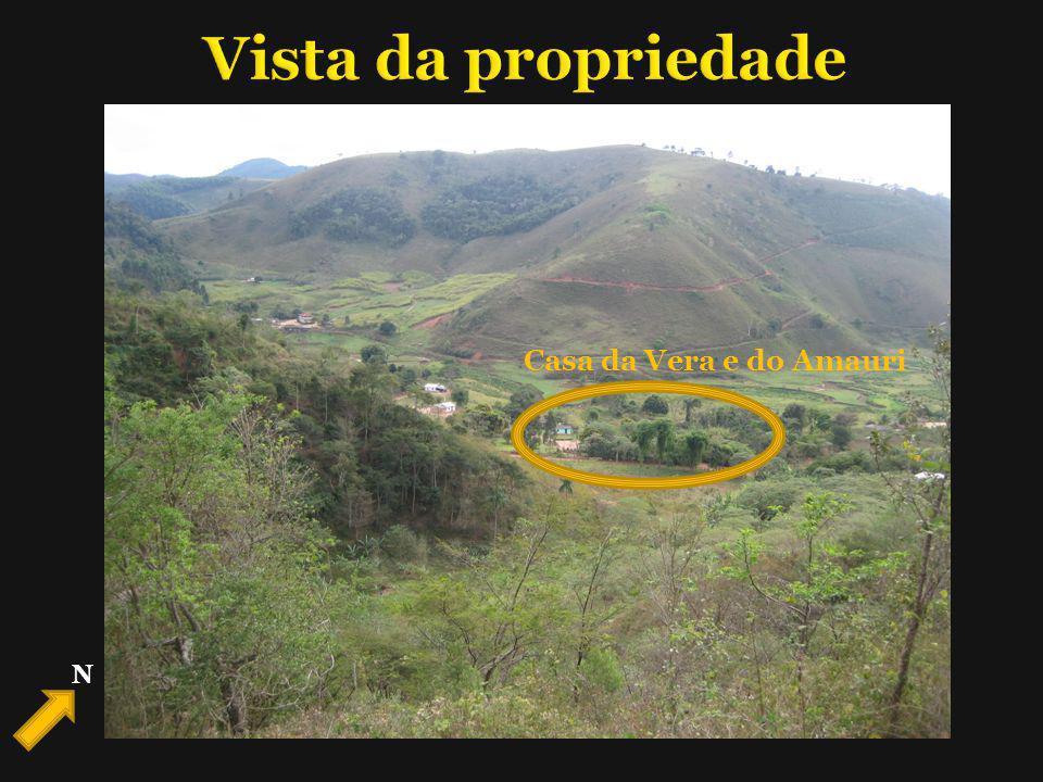 Vista da propriedade Casa da Vera e do Amauri N