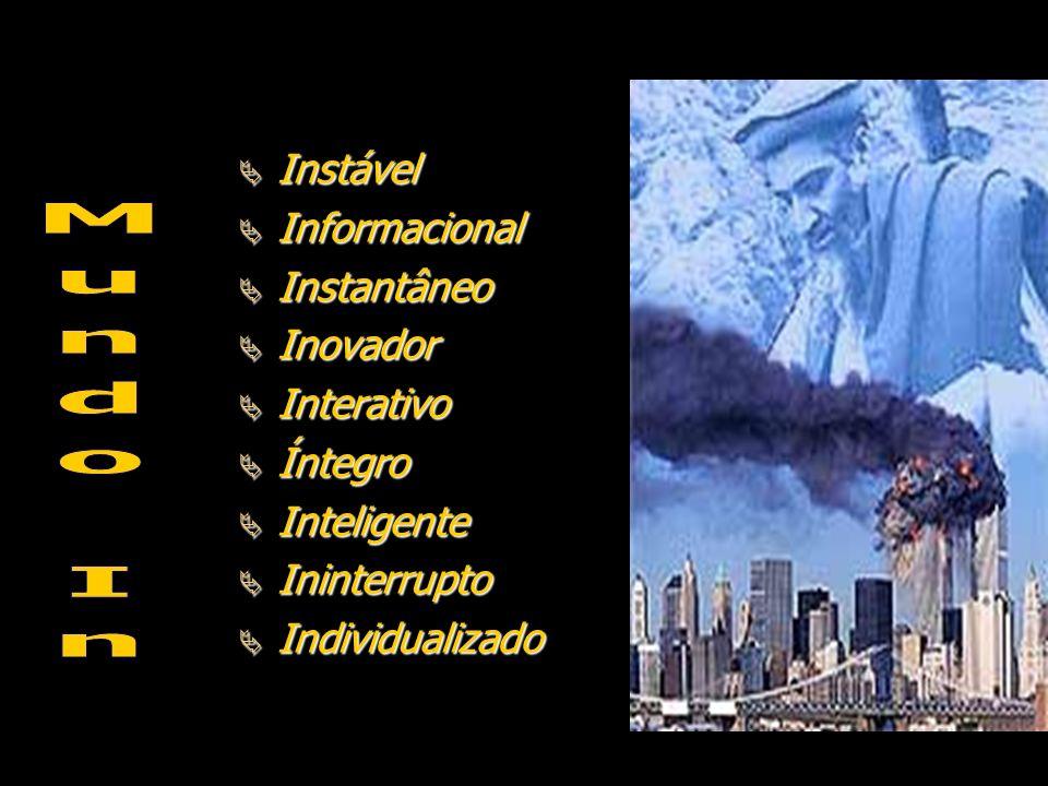 Mundo In Instável Informacional Instantâneo Inovador Interativo