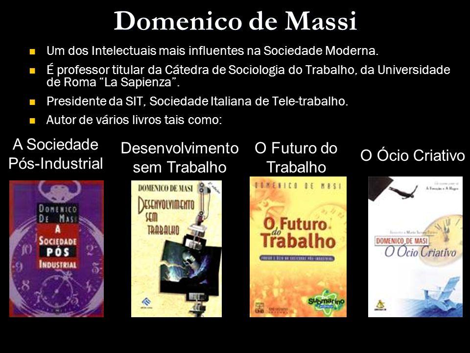 Domenico de Massi A Sociedade Pós-Industrial