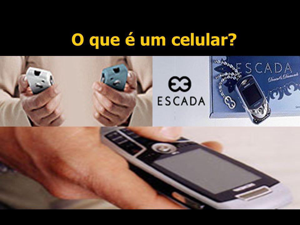 O que é um celular