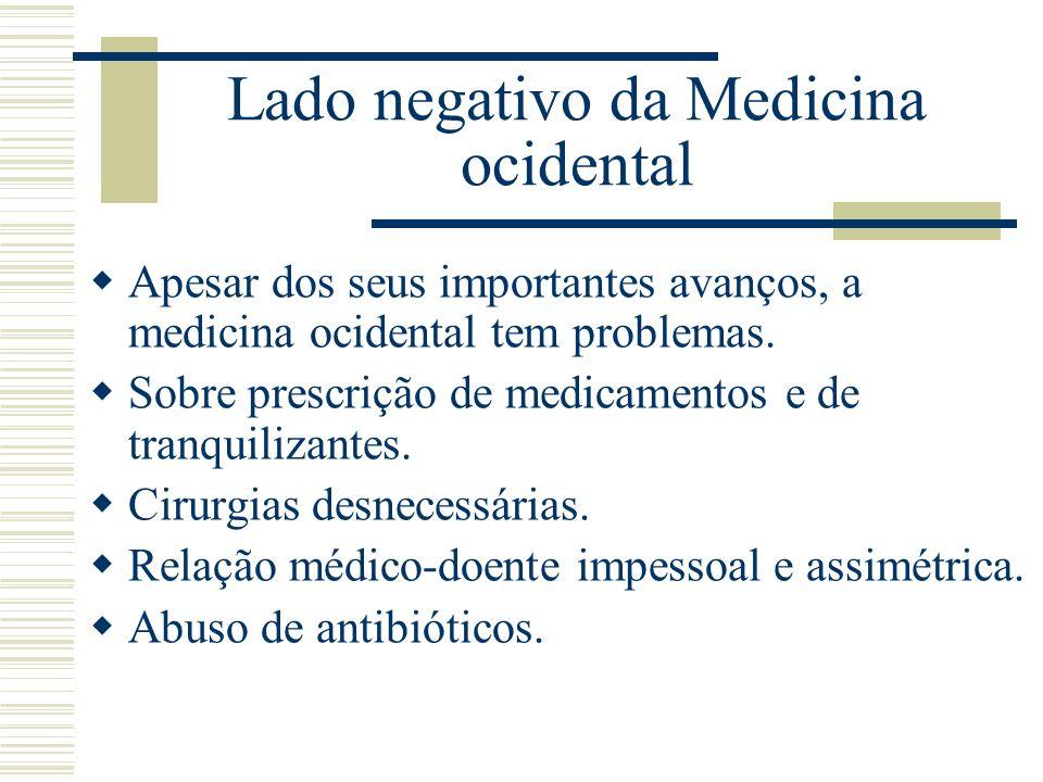 Lado negativo da Medicina ocidental