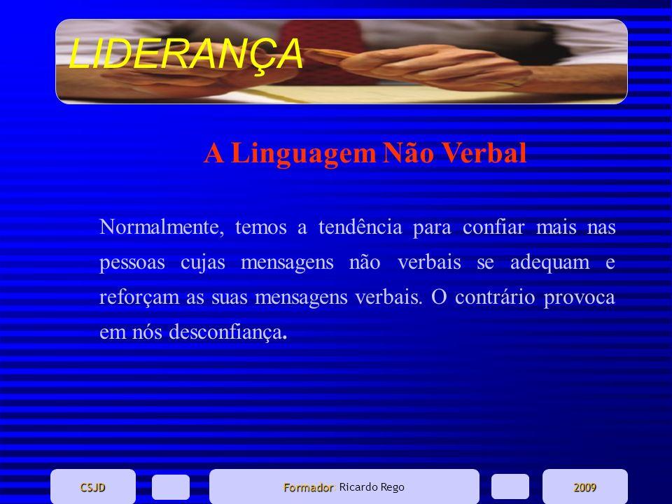 A Linguagem Não Verbal