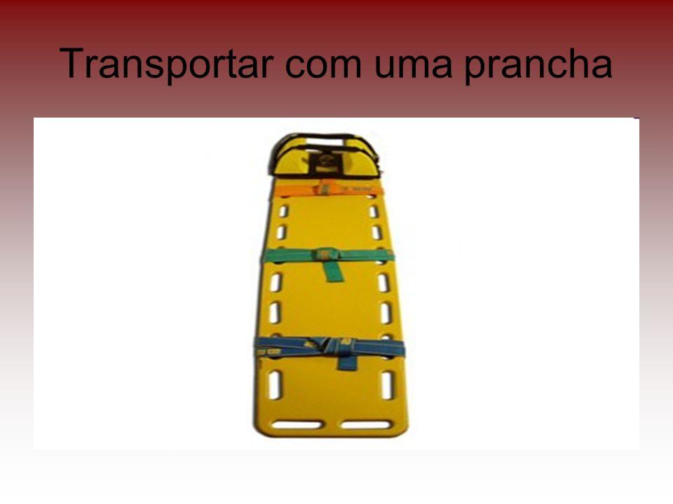 Transportar com uma prancha