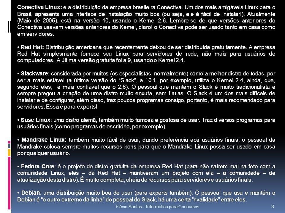 Conectiva Linux: é a distribuição da empresa brasileira Conectiva