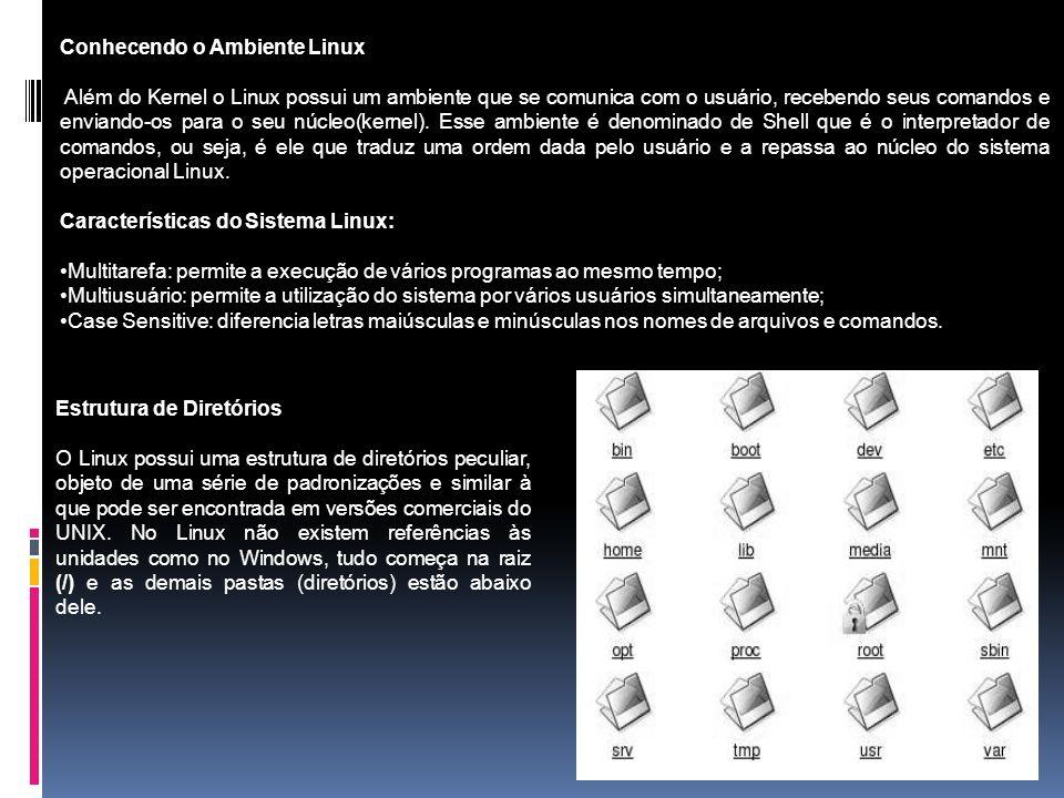 Conhecendo o Ambiente Linux