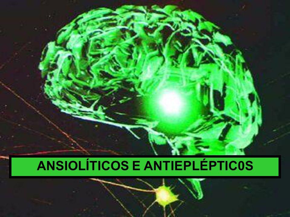 ANSIOLÍTICOS E ANTIEPLÉPTIC0S