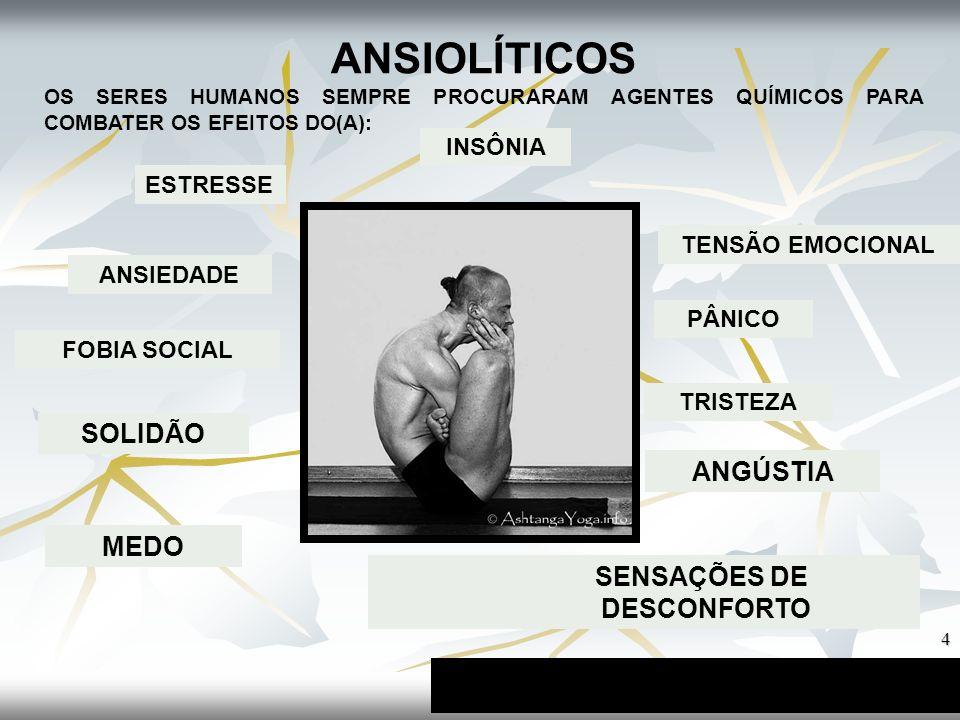 SENSAÇÕES DE DESCONFORTO