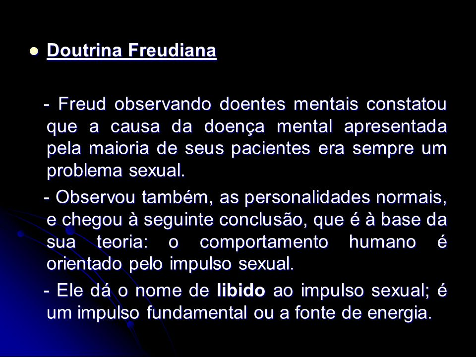 Doutrina Freudiana