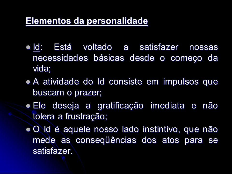 Elementos da personalidade