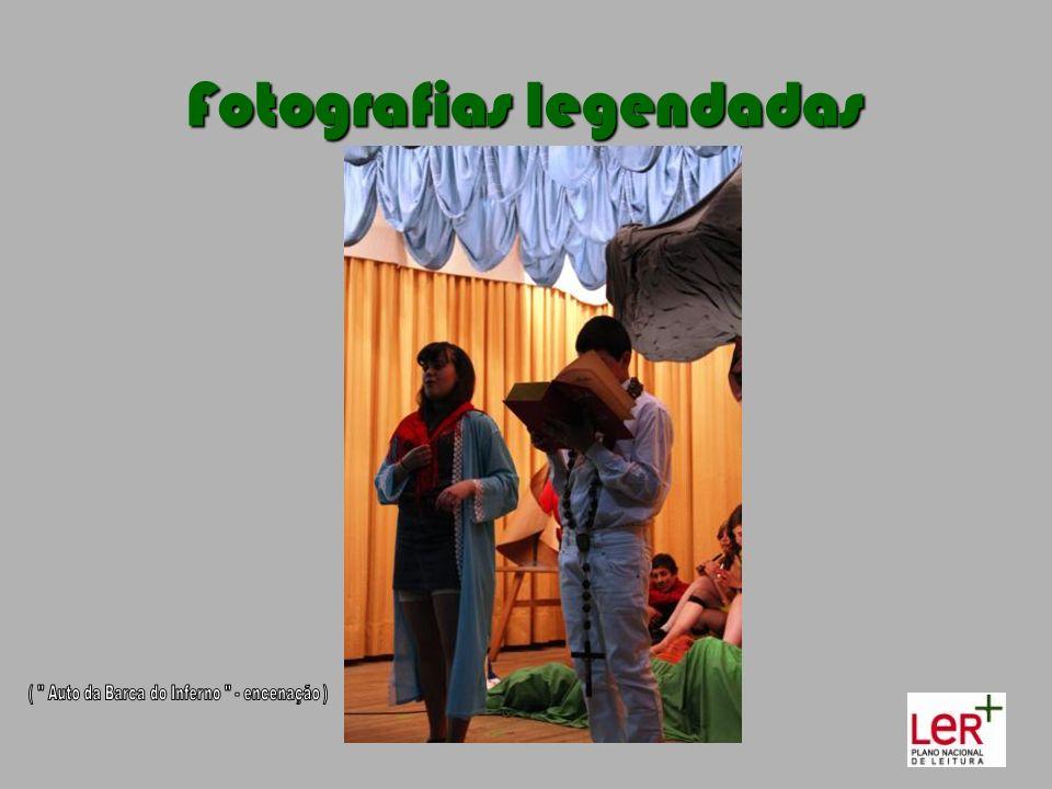 Fotografias legendadas