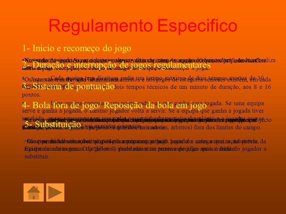 Regulamento Especifico