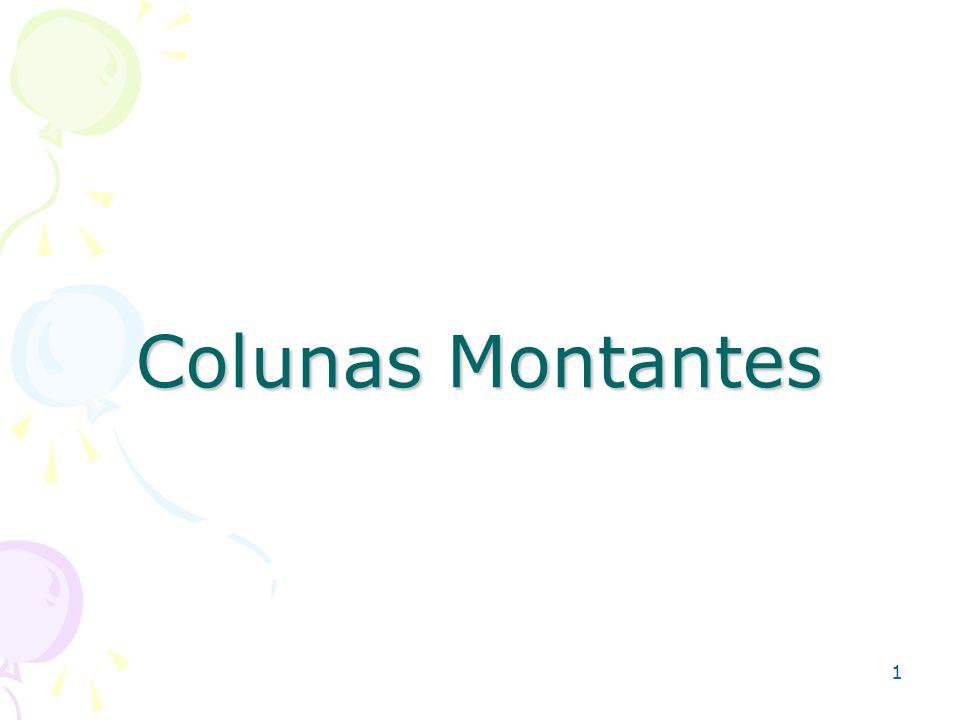 Colunas Montantes