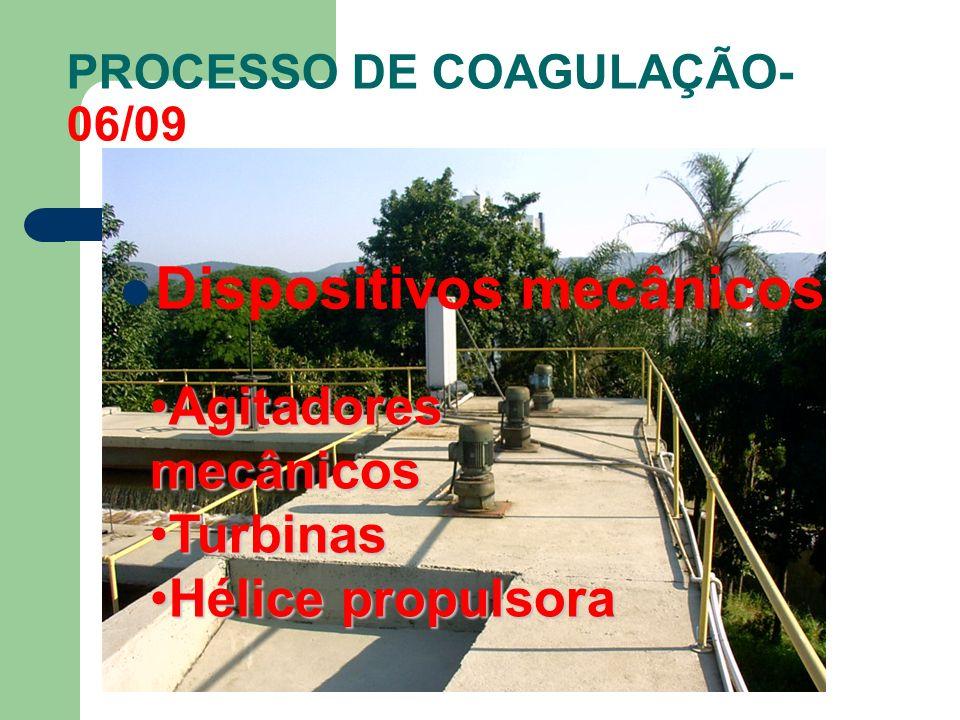 PROCESSO DE COAGULAÇÃO-06/09