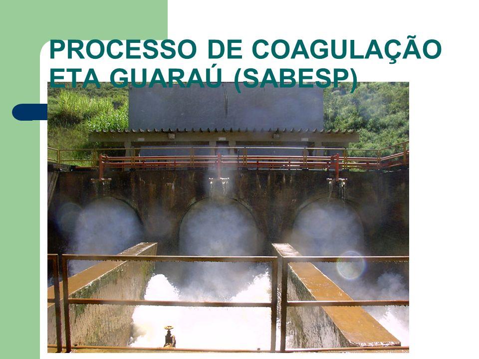 PROCESSO DE COAGULAÇÃO ETA GUARAÚ (SABESP)