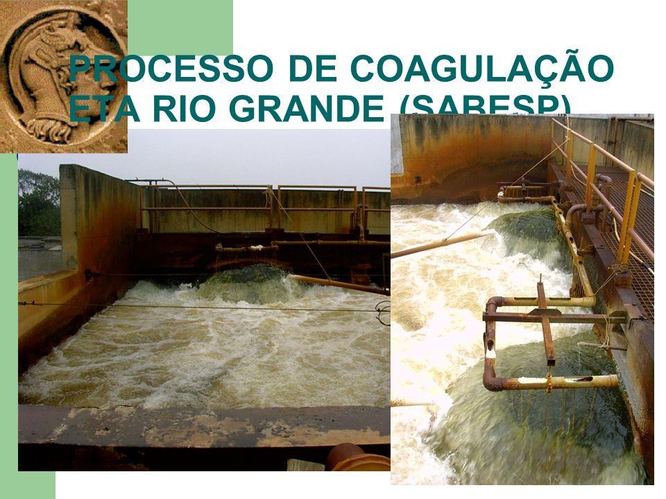 PROCESSO DE COAGULAÇÃO ETA RIO GRANDE (SABESP)